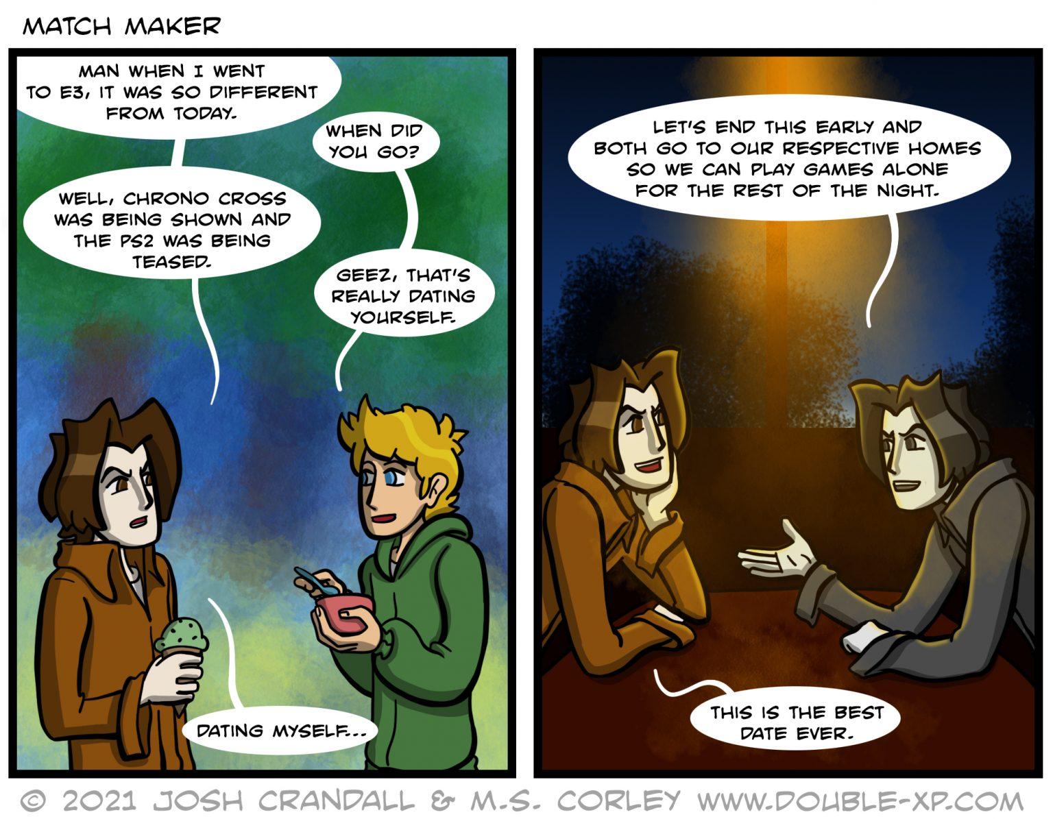 Selfdate-Comics